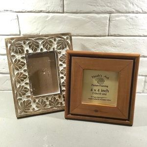 Other - Handcrafted wood picture frames (set of 2)